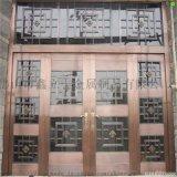 不锈钢镀铜大门