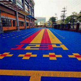 陕西气垫拼装悬浮式地板陕西铺装篮球场拼装地板材料
