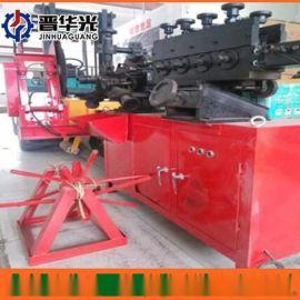 张掖市可调速金属波纹管制管机钢管镀锌管成型设备扁管机