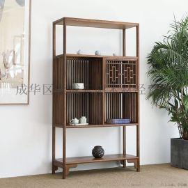 成都中式实木餐桌椅 仿古原木罗汉床 榫卯结构家具厂