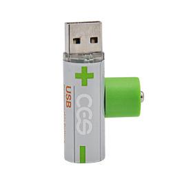 USB充电AA/5号/14500聚合物锂电池