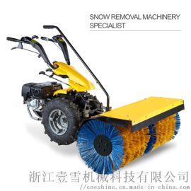 全齿轮传动小型手推式多功能扫雪机