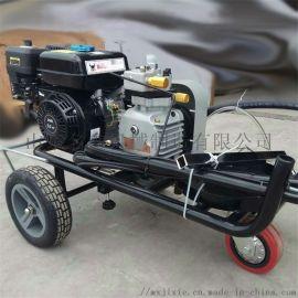 手推冷喷式道路划线机 混凝土路面标线机 冷喷划线机
