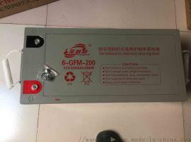 洛阳市圣普威6-GFM 12V200AH免维护铅酸蓄电池促销