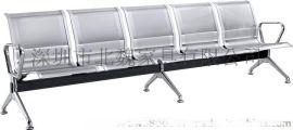 工厂直销3人位冷轧电镀钢制连排椅