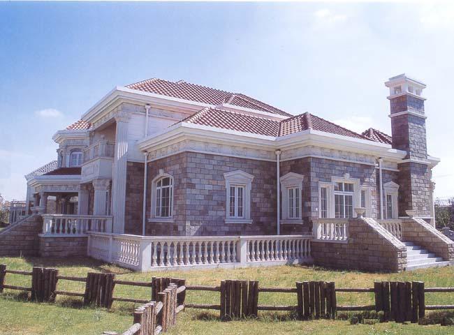 grc水泥構件別墅