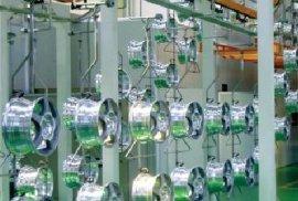 铝合金轮毂自动涂装线工艺设计