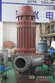 排送大颗粒物质专用潜水泵通透性好_螺旋离心泵