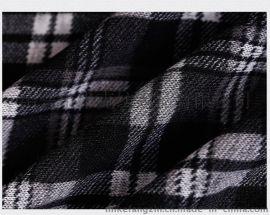 厂家直销新品上市 印花粗针绒布 粗针面料毛线布 现货供应