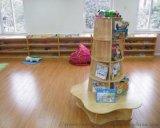 重庆江北幼儿园实木书架/实木书柜订制