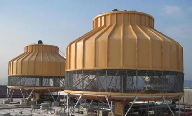 圓形逆流式玻璃鋼工業冷卻塔 龍軒環保 歡迎選購