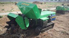 葡萄园开沟施肥机,多功能履带式开沟施肥回填一体机
