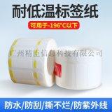 精臣耐低温标签纸 防冻不干胶液氮标签贴纸
