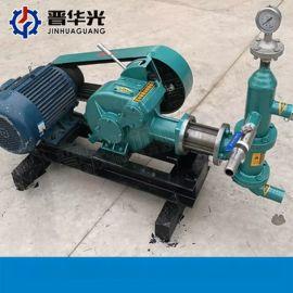 四川注浆泵矿用BW320泥浆泵双桶双层搅拌机