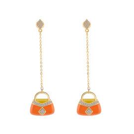 为什么小仙女们会偏爱流苏耳环呢?