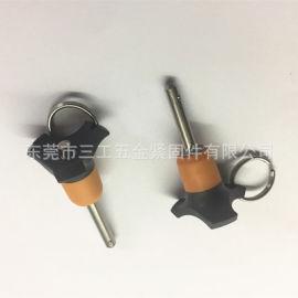 塑膠頭快鎖插銷PHQ-610、快卸銷、快拔銷