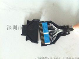 生产特殊纺织机排线纺织机插头线