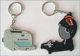 小饰品PVC软胶钥匙扣 钥匙吊饰
