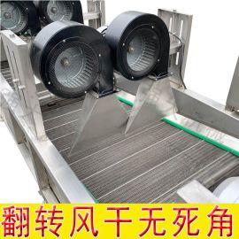 全自动水果蔬菜清洗风干流水线 大姜风干机厂家
