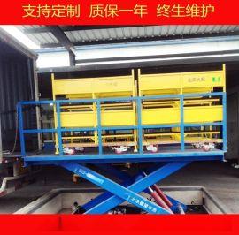固定剪叉式卸货平台,液压升降平台,电动升降机