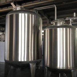 HYC-G不锈钢水罐 双层保温 多介质过滤水罐