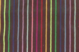 尼龍條紋網布 多色七彩條網 化妝袋尼龍紗網面料 七彩條子網布