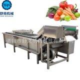 人参菜气泡果蔬清洗机器 涡流橄榄菜大枣橙子通用型去杂清洗机器