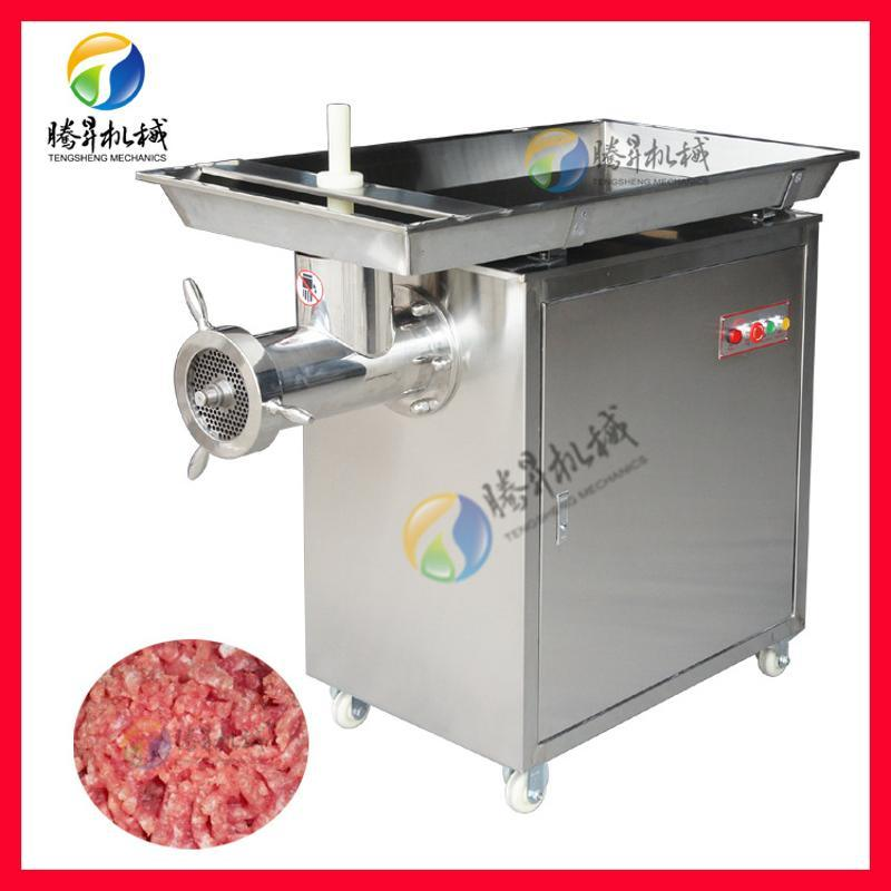 商用不锈钢立式绞肉机 产量大速度快 肉制品加工设备