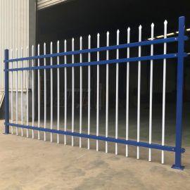 供应小区围墙隔离锌钢护栏栅栏定制镀锌喷塑外墙防护小区绿化围栏
