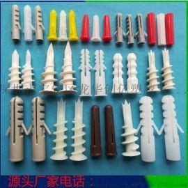供应带帽鱼形膨胀管 锥型入墙胶塞 塑料膨胀壁虎安装