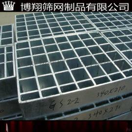 钢格板耐腐蚀平台镀锌 广州博翔平台镀锌