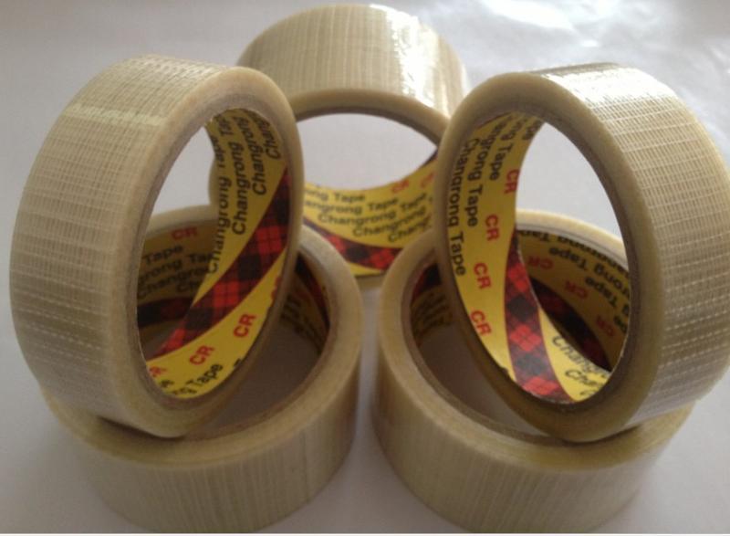 十字纤维胶带 玻璃纤维胶带 网格纤维胶带 网状纤维胶带(油胶)