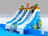 水上滑梯,充气水滑梯,水滑梯