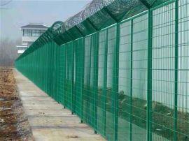 武汉刺丝隔离栅 围墙防护网 刀刺钢网墙