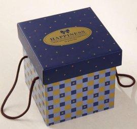 定做手提覆膜礼品盒/各种手工纸盒