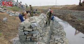 河道岸坡生态改造治理格宾网  蜂巢型河岸景观建设格宾石笼  热镀锌双绞五拧格宾网箱护岸护坡固脚