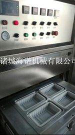 多格独立包装中央厨房气调真空设备 青椒肉丝盒式包装机