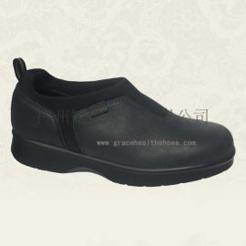真皮糖尿病足保健鞋,舒适皮鞋,缓解足底疼痛