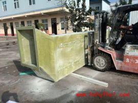 河南和业手糊定制玻璃钢管道方形 厂家定制玻璃钢造型