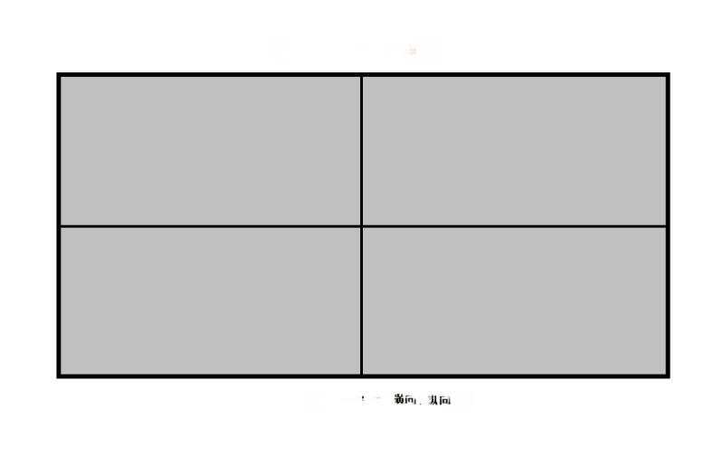 32寸43寸55寸拼接透明屏