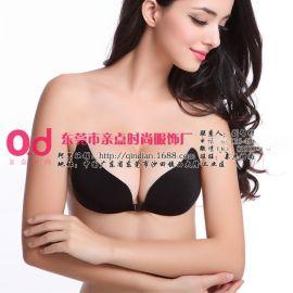 江新娘无带隐形文胸 时尚文胸批发市场 硅胶文胸定制