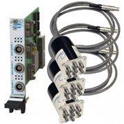 PXI远程安装三组SP6T多路复用开关板卡2.5GHz 75Ω 1.6/5.6