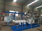 海源2017最新款鲜肉宠物饲料双螺杆湿法膨化机