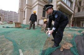 砂石料遮盖防尘网 绿色可加工定做