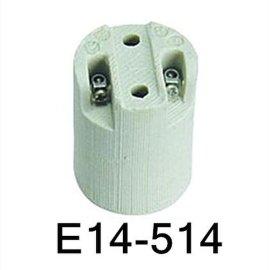 E14瓷灯座