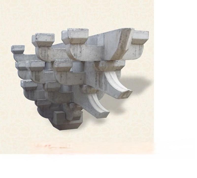 水泥斗拱、GRC斗拱、预制斗拱构件、古建斗拱、斗拱模具