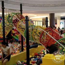 球池智勇闯关项目 定制新型淘气堡乐园 室内儿童游乐设备品牌加盟