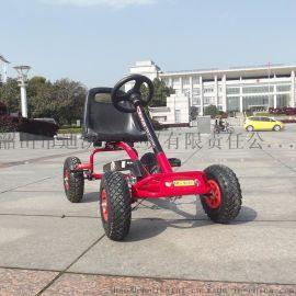 洛骑亚HL-9868儿童充气轮胎卡丁车脚踏车四轮自行车
