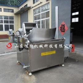郑州燃气腐竹油炸机 燃气油水混合油炸机价格