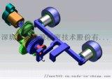 按摩器靜音齒輪箱及傳動機構設計